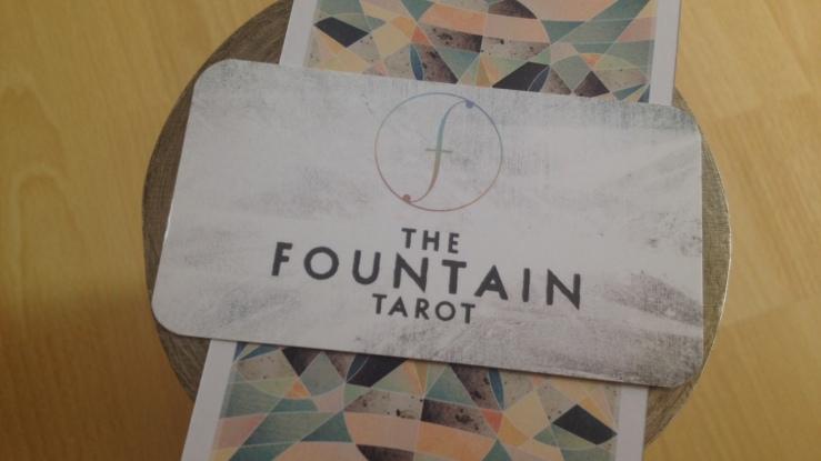 Fountain Tarot - Biz Card