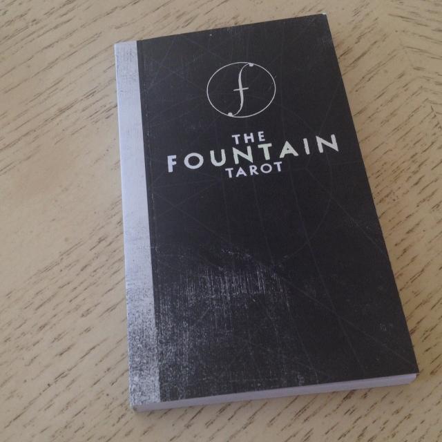 Fountain Tarot - Guidebook Cover