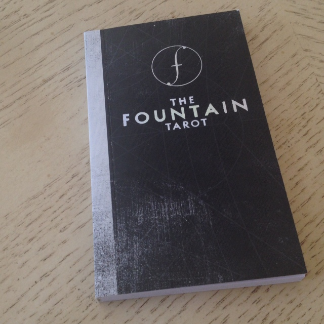Fountain Tarot - Guidebook Cover