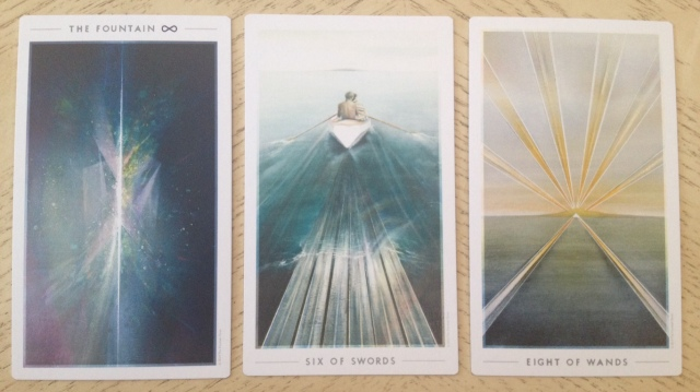 Fountain Tarot Reading 2 Cards Face Up