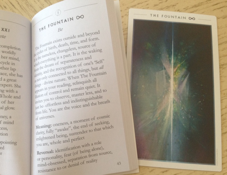Fountain Tarot Reading 3 Card 1