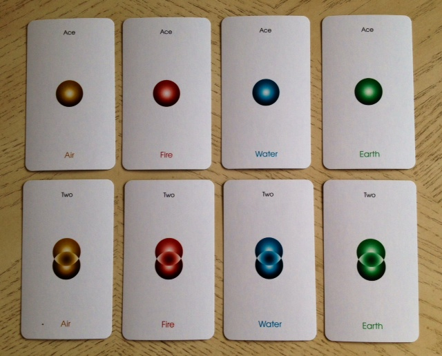 Orbifold Tarot - 12 Minors 1 and 2