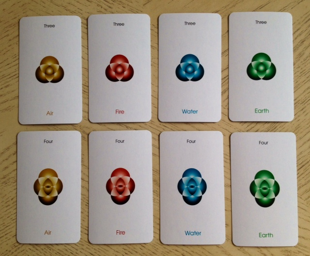 Orbifold Tarot - 12 Minors 3 and 4