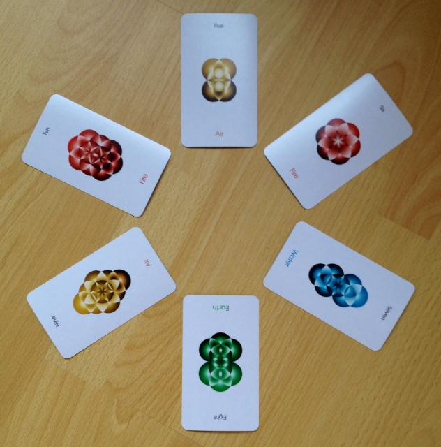 Orbifold Tarot - 12 Minors 5-10