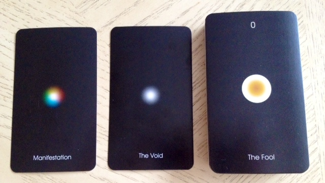Orbifold Tarot - 2 The Fool (Air and Void)