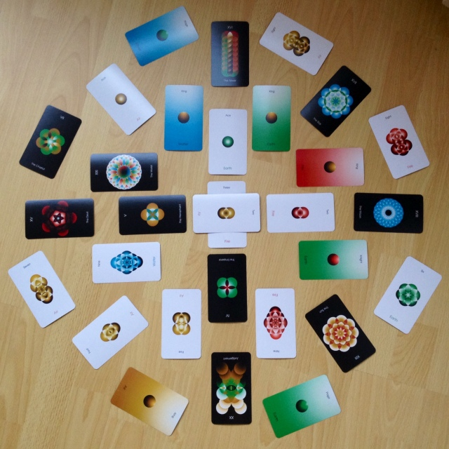Orbifold Tarot - Mandala 1 (High Res)