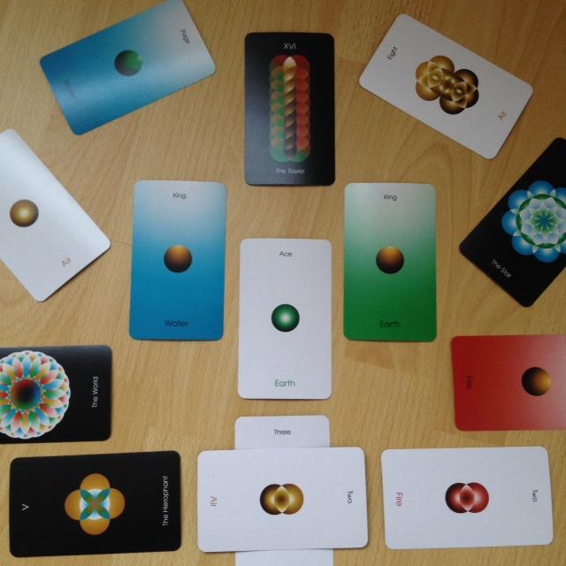 Orbifold Tarot - Mandala Reading 3 South