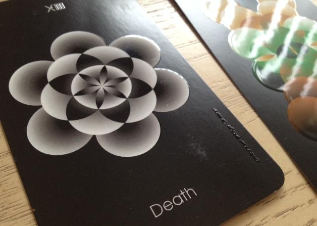 Orbifold Tarot - Raised High Gloss Images (Death)