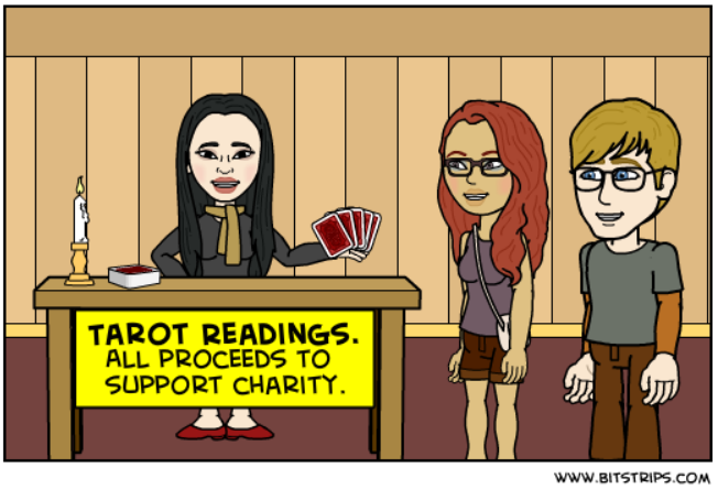 Bitstrips - Free Reading Charity