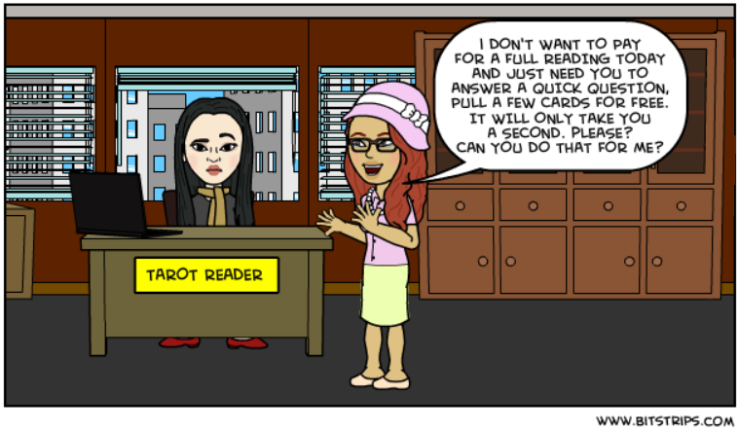Bitstrips - Free Reading Please