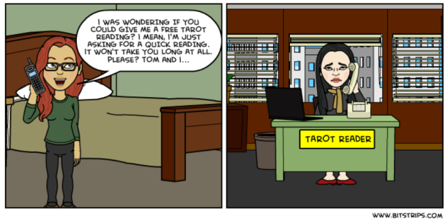 Bitstrips - Friendly Request for Free Reading
