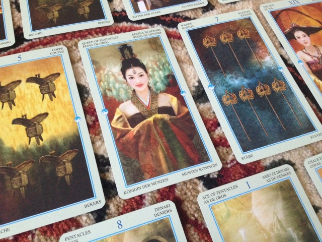 China Tarot - Cards Splay