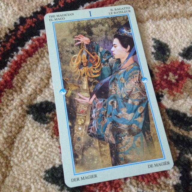 China Tarot - Majors I 1 Magician