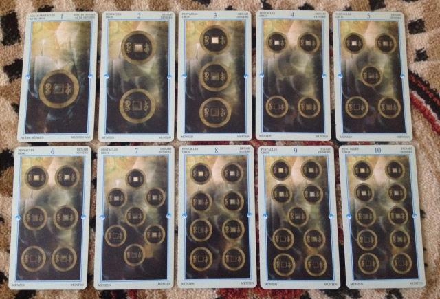 China Tarot - Minors - Pentacles