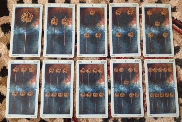 China Tarot - Minors - Wands