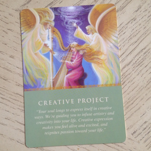 Daily Guidance Oracle (Virtue) - Card Sample 4