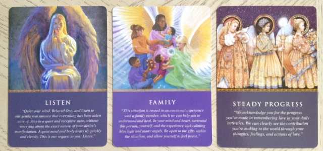 Daily Guidance Oracle (Virtue) - Three Cards 1