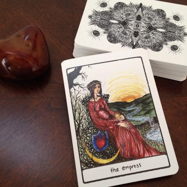 Efflorescent Tarot 2 Card 1