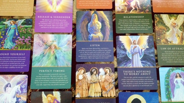 Daily Guidance from Your Angels Oracle Cards by Doreen Virtue (Hay House)