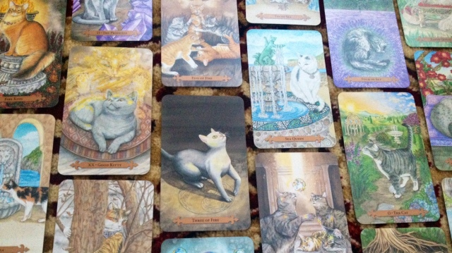 Mystical Cats Tarot by Lunaea Weatherstone and Mickie Mueller (Llewellyn)