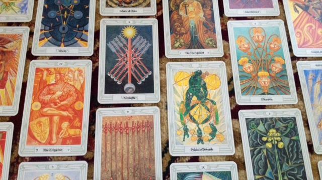 Thoth Tarot by Aleister Crowley and Frieda Harris (U.S. Games)