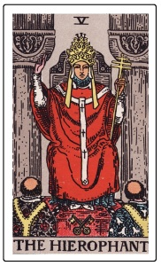 Key 5 The Hierophant