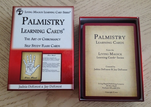 Palmistry Cards - Box and Cards