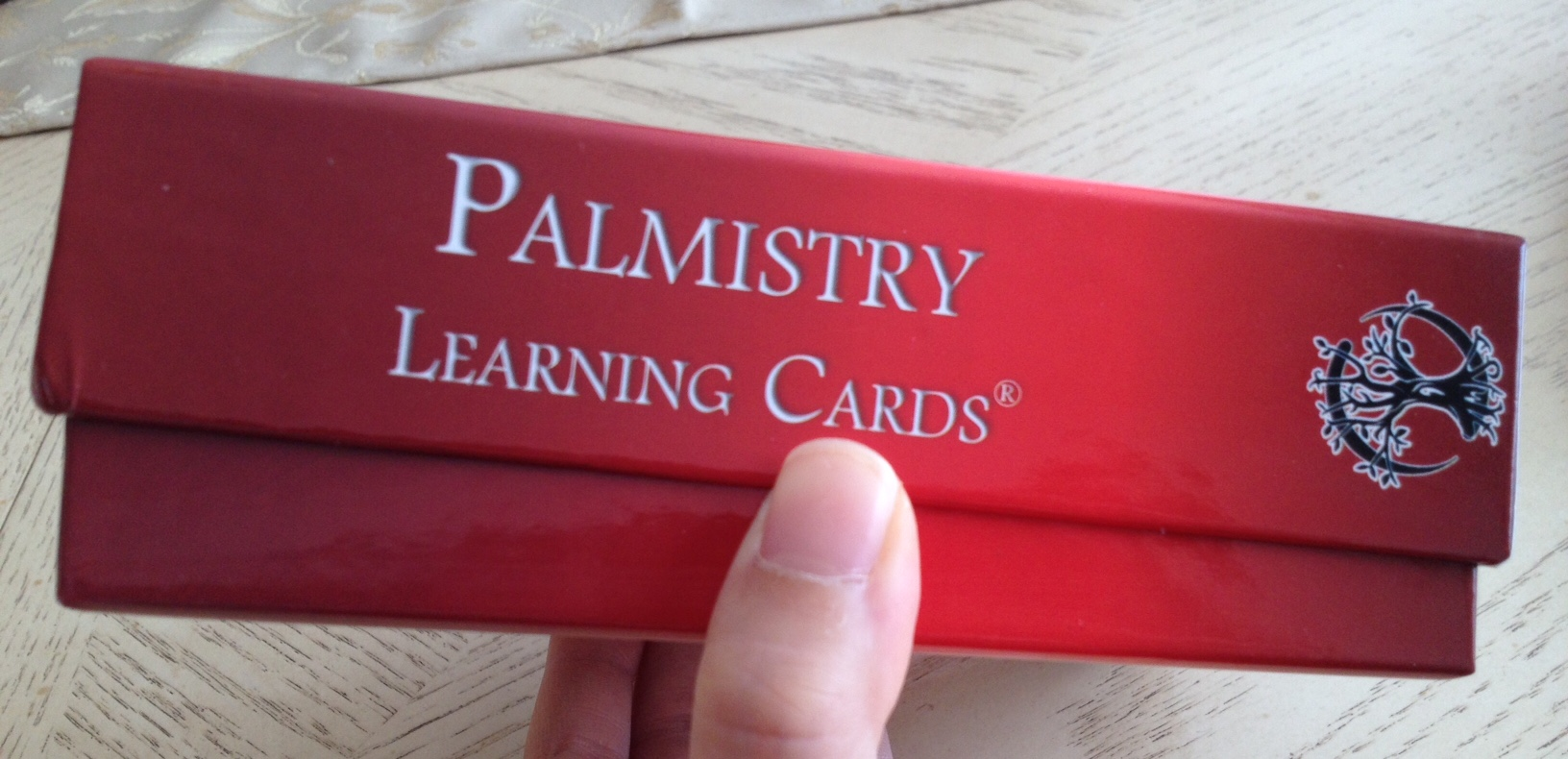 Living Magick Learning Cards Series: Palmistry Learning