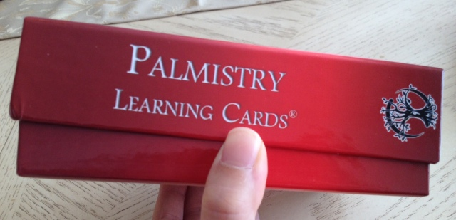 Palmistry Cards - Box Side View