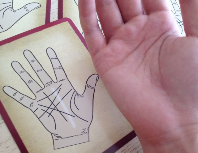 Palmistry Cards - Fate Line 2