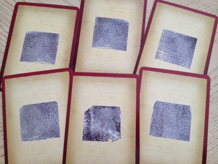 Palmistry Cards - Fingerprints