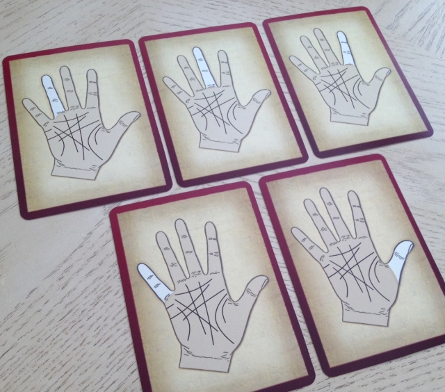 Palmistry Cards - Fingers