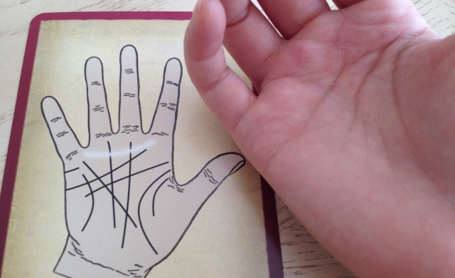 Palmistry Cards - Girdle of Venus