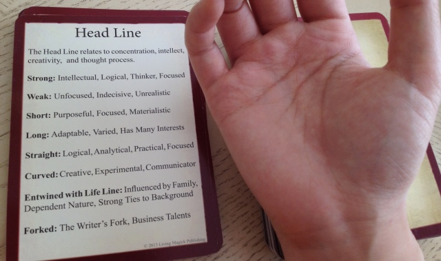 Palmistry Cards - Head Line