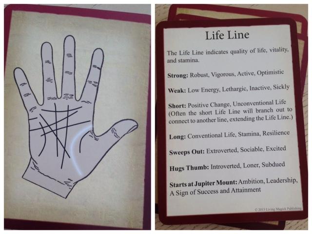 Palmistry Cards - Life Line