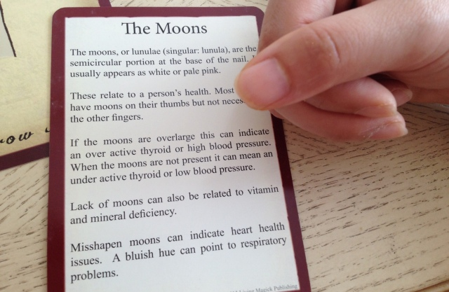 Palmistry Cards - Moons