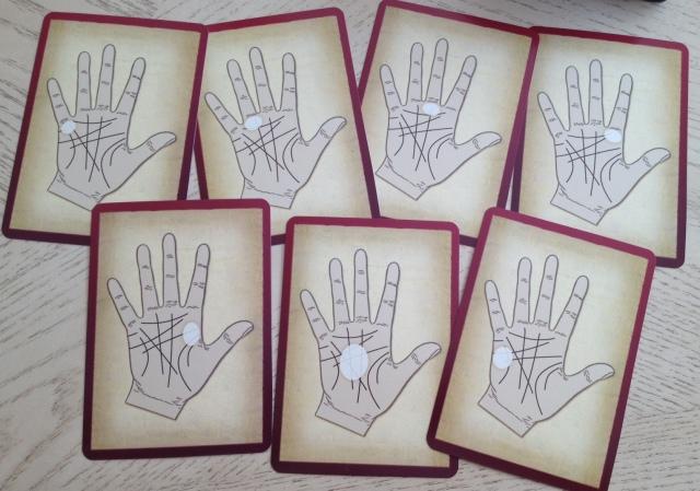 Palmistry Cards - Mounts