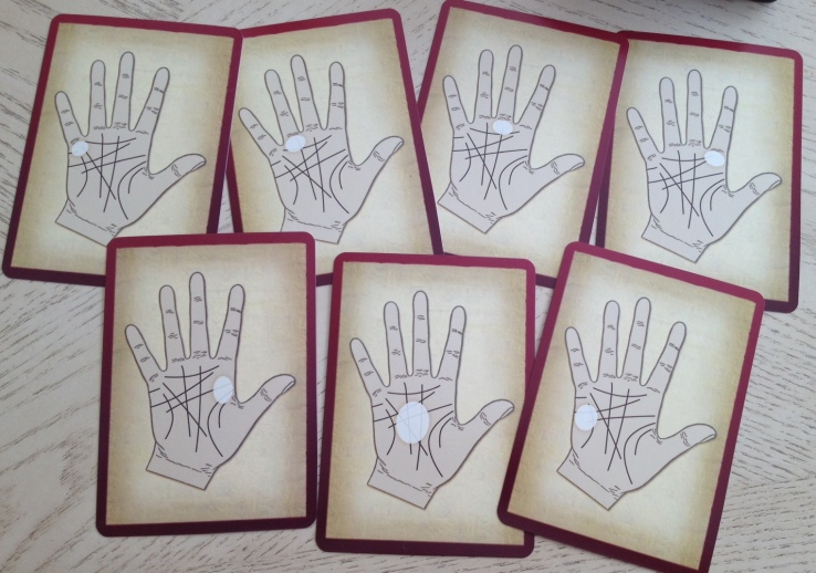 Palmistry Cards - Mounts