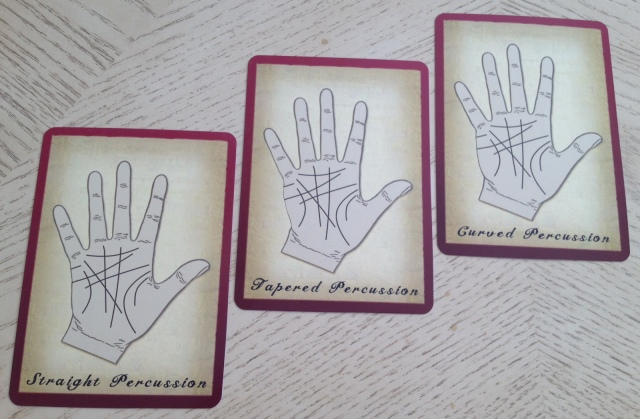 Palmistry Cards - Percussions