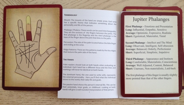Palmistry Cards - Phalanges