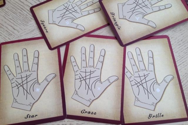 Palmistry Cards - Stars Crosses Stuff