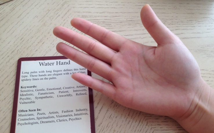 Palmistry Cards - Water Hand