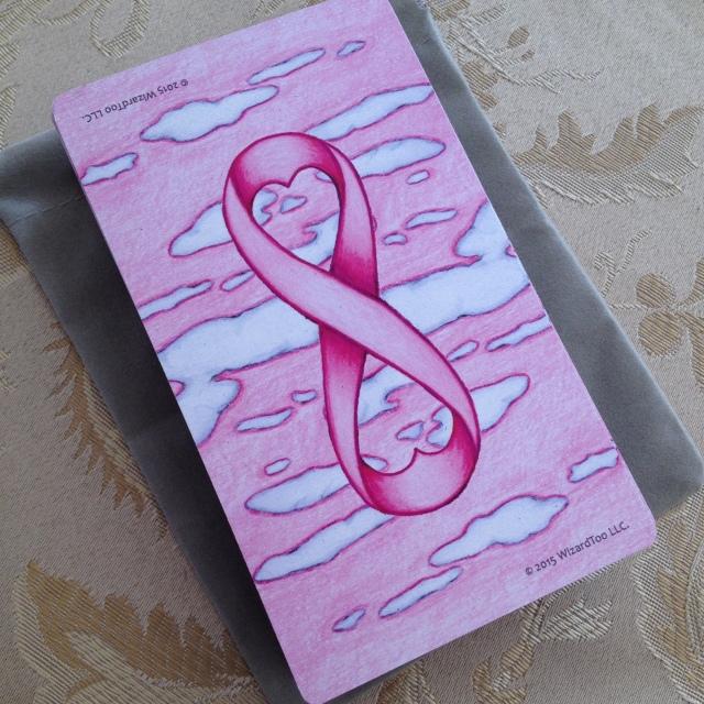 Tarot Pink 02 Card Back