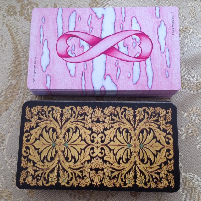 Tarot Pink 03 Card Size Compare