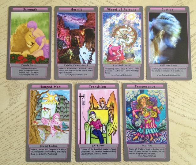 Tarot Pink 10 Majors II