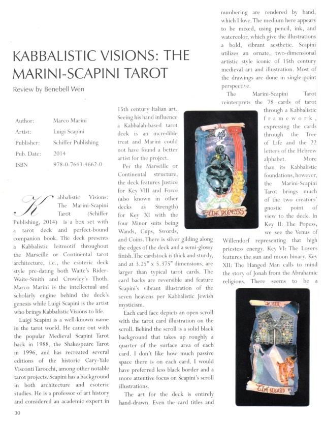 The Cartomancer - Kabbalistic Visions Pg1