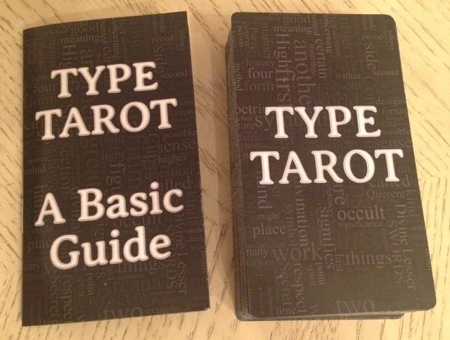 Type Tarot 02 Deck and LWB