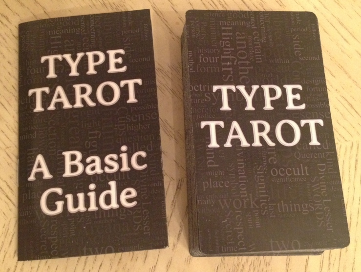 Type Tarot 02 Deck and LWB