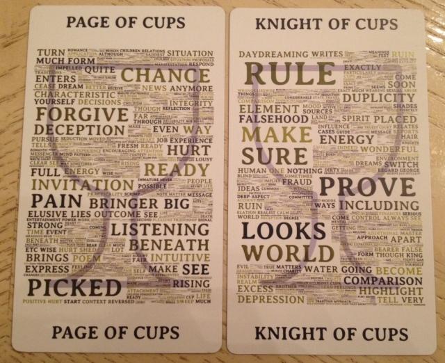 Type Tarot 14 Cups