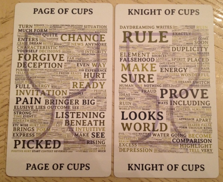 Type Tarot 14 Cups